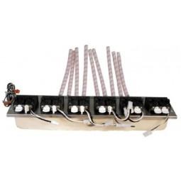Plate/manifold assembly, 1523, 6V, 3-2-1