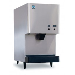 Ice machine/ice & water dispenser, cubelet ice, air cooled, 282 lbs ice/day