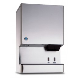 Ice machine/ice & water dispenser, cubelet ice, water cooled, Opti-Serve, 590 lbs ice/day