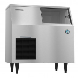 Ice machine flaker with built-in bin 110 lb bin 353 lbs ice/day