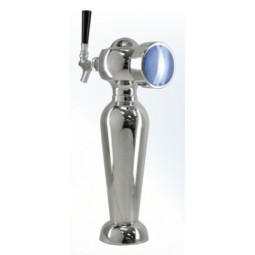 Idea tower 1 faucet chrome air cooled LED medallion (faucet and handle sold separately)