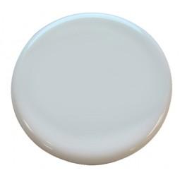 82mm diameter white ceramic medallion