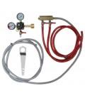Tapping kit for keg cooler, 2 tap CO2 kit