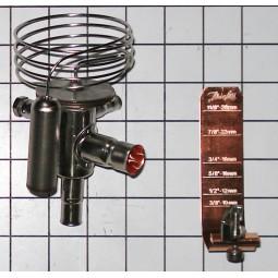 TX valve Siberian chiller R404a 3kW