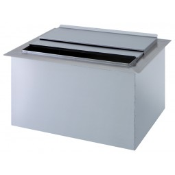 Drop-in 22x15 ice chest no cold plate
