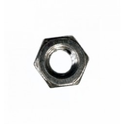 Hex nut, 8-32, SS