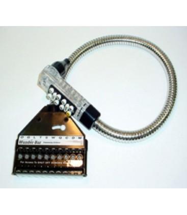 """Bar gun Mark 4 10-button postmix 6C/2NC black 48"""""""