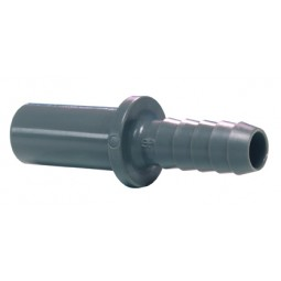 Tube to hose stem 3/8 x 3/8