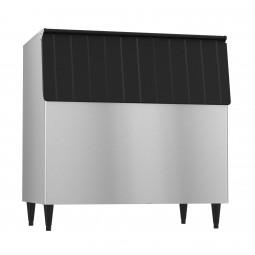 "Hoshizaki vinyl clad exterior ice storage bin holds 700 lbs ice 44"" wide"