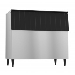 "Hoshizaki vinyl clad exterior ice storage bin holds 800 lbs ice 48"" wide"