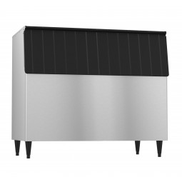 "Hoshizaki vinyl clad exterior ice storage bin holds 900 lbs ice 52"" wide"