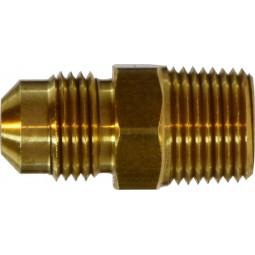 Brass adapter 1/4 MFL x 1/4 MPT