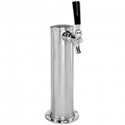 "3"" Cylinder tower 1 faucet SS glycol"