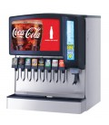 "Ice Bev Dispenser 30"" Sensation 8 LEV self serve lever valves chewable ice"