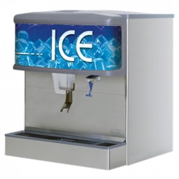 """ID 4400 ice only dispenser with T&S water valve, 30"""""""