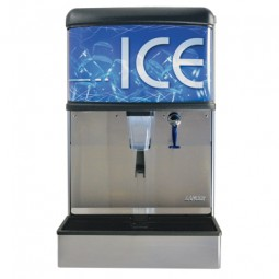 """ID 4400 nugget ice only dispenser with T&S water valve 22"""""""