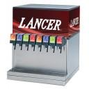 CED 2500HP dispenser, 8 LEV self-serve lever valves, CC graphic