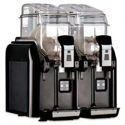 Frozen granita machine double bowl 1.58 gallon each