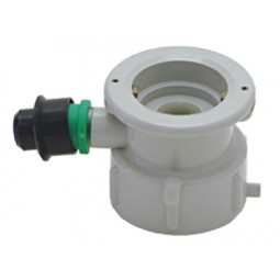 """D"" system plastic cap for plastic cleaning bottle"