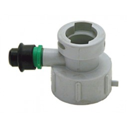 """U"" system plastic cap for plastic cleaning bottle"