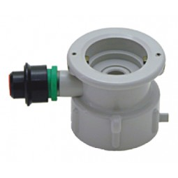 """S"" system plastic cap for plastic cleaning bottle"