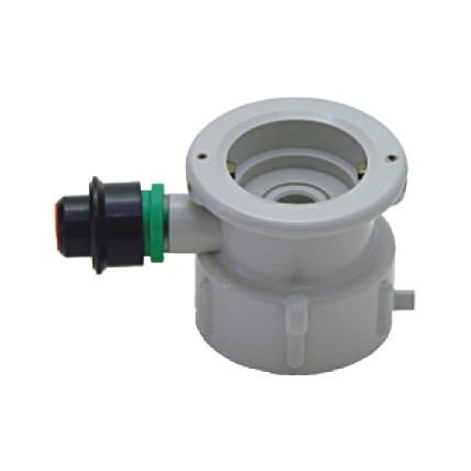 """""""S"""" system plastic cap for plastic cleaning bottle"""