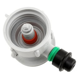 """M"" system plastic cap for plastic cleaning bottle"