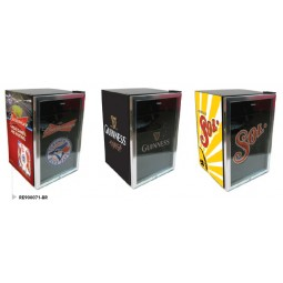 Custom branded 4.6 cu ft glass door beverage center