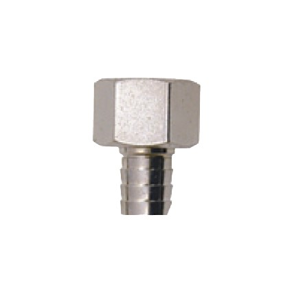 "Drain nut with 1/2"" nipple"