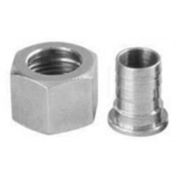 "Standard drain nipple and nut thread 1/2"" BSP"