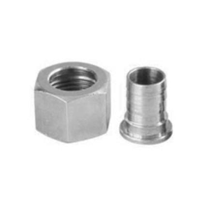 "Standard drain nipple and nut thread 1/2"" BSP"
