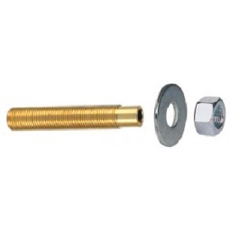 "Standard drain assembly 3-1/2"" long drain thread 5/8""x 18"