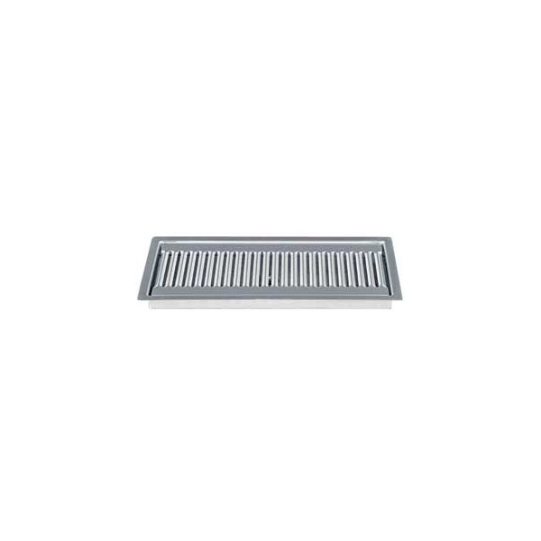 Flush Mount Drip Tray 15 Quot X 5 Quot Brushed Stainless Finish