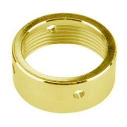 Faucet coupling nut, polished brass