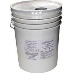 PG Food Quality glycol 5 gallons, 40% PG Pre-mix