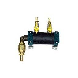 Glycol manifold assy SS 1 pump supply, 2 way