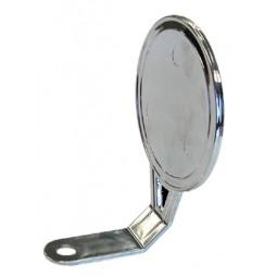 Chrome round faucet mount medallion holder