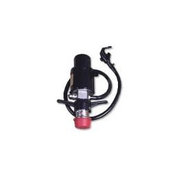 "Super pump with hose and faucet, Sankey ""D"" probe"