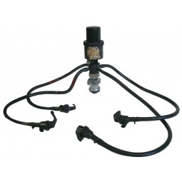 Bronco pump with 4 faucets, American