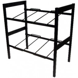 "Flat 2-wide x 2 shelves 28"" wide x 20.5"" high (44240)"