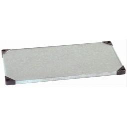 SS shelf, 24x48, solid
