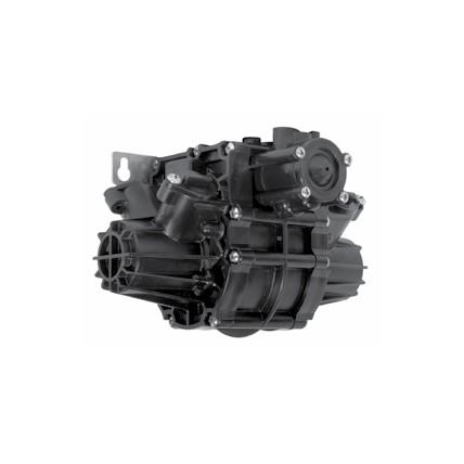 SHURflo brix pump, black, 4:1 ratio, 8 box capacity