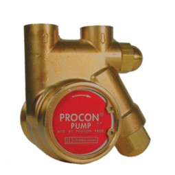Procon brass pump w strainer 250 psi 125 GPH
