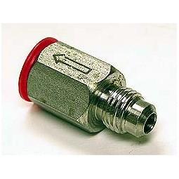 "McCanns carbonator single check valve 1/4"" MFL"