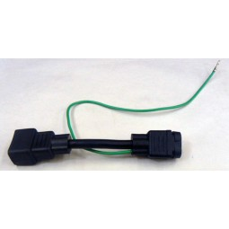 McCanns carbonator 2 male prong to 3 female prong adaptor cord/plug