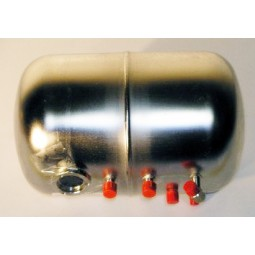 McCanns carbonator tank assy w decals, large, 2 out