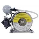 Water boost/filter combo system, single LVPO filter cartridge, 90 psi, 115V