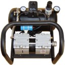 Oil-less air compressor with filter/regulator, auto drain valve and muffler