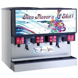 "Flavor Select Dispenser 44"" LFCV 16 brands 12 bonus flavors cube/cubelet"