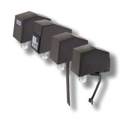 Plastic sanitary lever, 3.0 oz./sec: dual flow controls